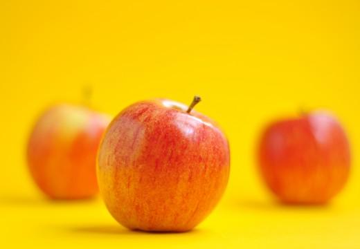 La pomme c'est la santé